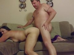 Big-assed mature cougar rough riding hardcore!!