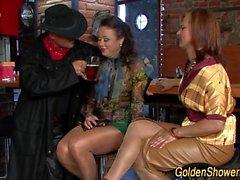 Hos group goldenshowered