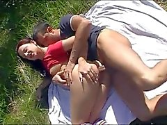 anal rimjob outdoor