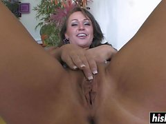 Noelle gets her tight buttocks drilled