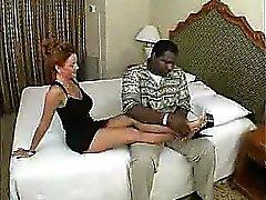 Lovely mature amateur milf wife interracial cuckold foot worship