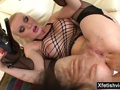 Hot pornstar anal fisting and cum in mouth