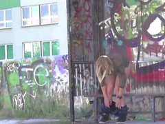 Babes Peeing Outdoor 4