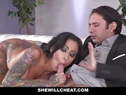 Lily Lane Ass Fucked by Friend