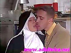 shy european nun gets fucked (by adultviva)