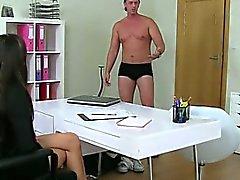 Big ass anal dildo