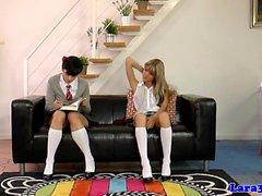 Uk milf spanking naughty les schoolgirls