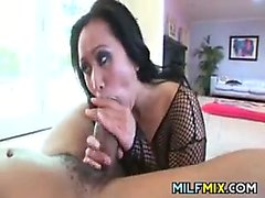 Horny Asian Mother In A Sexy Outfit