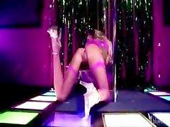 Danielle Derek - Strip Girl Gangbanged