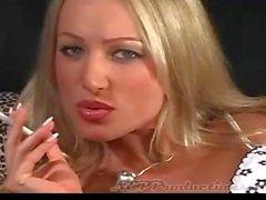 Smoking Diana Doll