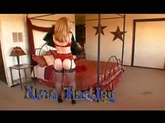 Hot MILF Nina Hartley Interracial