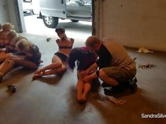 8 Ladies Tied and Taken Away in a Van