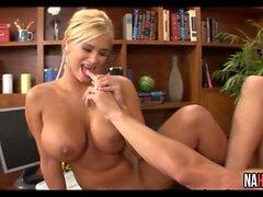 Hot Sexy Threesome In Classroom Carmella Bing, Shyla Stylez