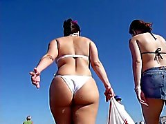 Butt Beach Action (double feature)