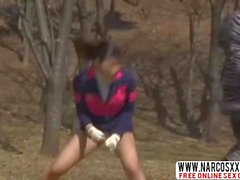 Cuti asian mom Miki Sunohara got into big trouble