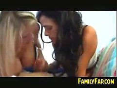 Mother In Law And Friend In A Threesome