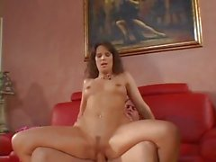 Wild Cougar Syren Demer bounces her cunt on a hard cock