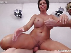 Sexy Milf Or Tiny Spinner Who Gets Gangbanged better