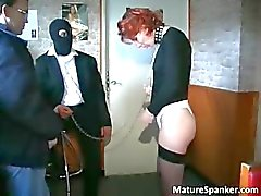 Nasty kinky redhead MILF slut