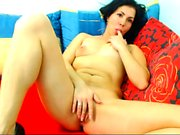 Striptease and blowjob from real MILF amateur wife