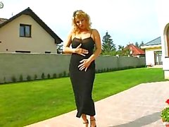 Huge Tits Milf Double Package & Swallowing