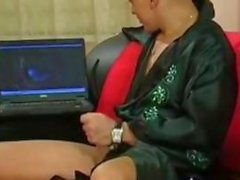 Mature Russian Fucking On The Couch