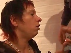 German Anal Mom
