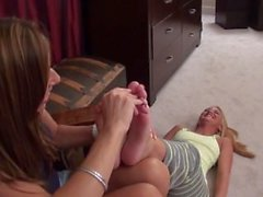 Bedtime Tickles for Shelby with MILF Nikki