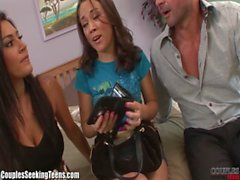 Kristina Rose Pays the Rent By Fucking a Sexy Couple