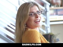 BadMILFS - Lucky Guy Fucks Stepmom and Sister
