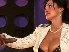 MILF Bombshell LISA ANN fucks All-Star player, Ice Cold XXX