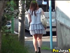 Fetish asian watched pee