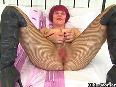 Britain's sexiest milfs: Red, Penny Brooks and Raven