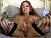 Boobs Girl Webcam Dildo Masturbation