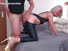 Blonde loves hard cock