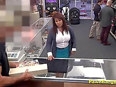 Desperate Wife Agrees To Fuck For Cash Deal
