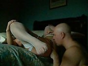 Milf intercourse with 4 hands in her openings