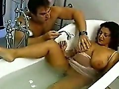 Horny MILF In The Bathtub