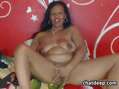 Old Ebony Webcam Whore