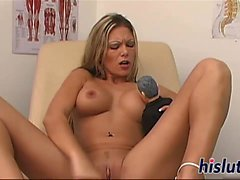Hot masturbation session with stunning Anna Nova