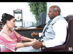 Black Guy Fucks Asian Boss London Keyes