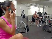 Sexy MILF Gets Fucked at The Gym