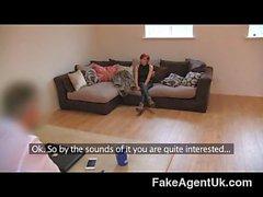 FakeAgentUK - Petite cash strapped MILF