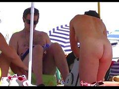 Horny Nude Milfs Beach Voyeur Spycam Hd