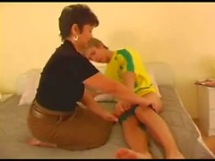 Russian Short Hair Mature Mom