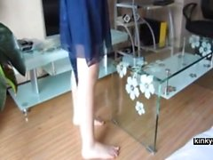 Japanese milf Nara punished with cane
