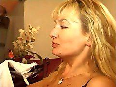 FRENCH MATURE 8 blonde anal mom milf and a young man