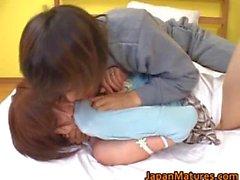 Kaori Nanba Japanese mature babe gets part4
