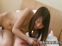 Japanese wife loves to fuck