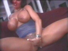 My Sexy Piercings Busty pornstar Corina with pierced nipples